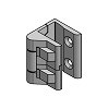 Scharnier Zinkdruckguss 213 2B BK